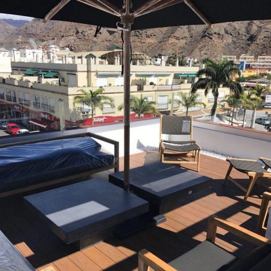 Reforma de terraza en Canarias